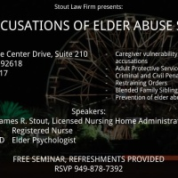 False accusations of elder abuse seminar
