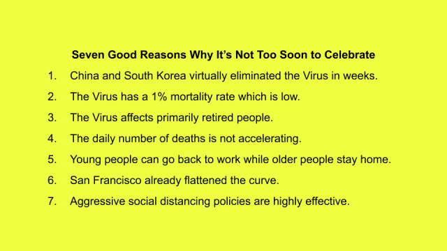 Seven good reasons